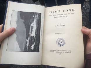 Kate had an old book with valuable historical bog management